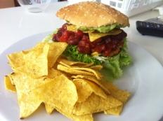 Vegan for Fun - Tex-Mex-Burger