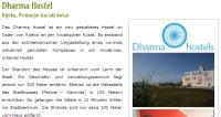 Beispiel: Dharma Hostel mit Fotos und Beschreibung
