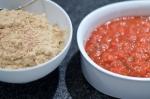 Hummus und Salsa