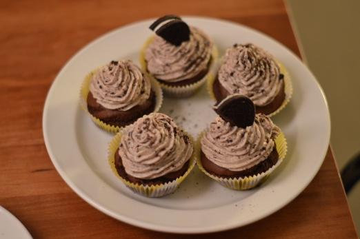 Vegane Oreo Cupcakes