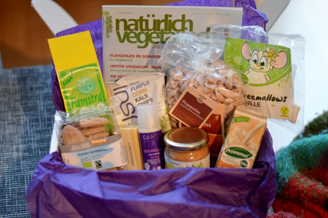 Große Vegan Box Januar 2014